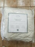 Pottery Barn The Premium Bedding Collection Stay Pure Duvet Insert Queen 4725