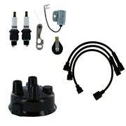 2-cyl Tractor Ignition Tune Up Kit Fits John Deere M Mt 40 320 330 420 430 440