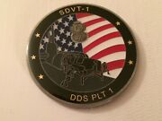 Navy Seal Delivery Vehicle Team 1 Sdvt-1 Dds Platoon 1 Dbap Challenge Coin / One