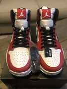 Air Jordan 1 Golf Shoes Size Us 12 White/red/black Chicago 917717-100