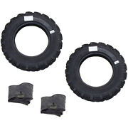 Two 2 Lugged Tires And Tubes Set Lugged 600 X 16 Tire Fits John Deere Tractor