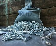 - Lot Of 2 - New Rud 16.00x20 8 Mm Snow Chains Square Link 16x20 8mm Chains Tire