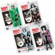 Kiss 12 Inch Action Figures Series 8 Dynasty Set Of All 4