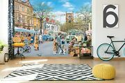 3d Fruit Market P538 Wallpaper Mural Self-adhesive Removable Trevor Mitchell Amy