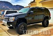 Painted Fender Flares For 07-14 Chevy Tahoe Oe Style Color Match Set