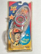 Disney Toy Story Two Push-button Watch Animated New In Box