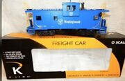 ✅k-line By Lionel Westinghouse Smoking Caboose New O Scale Pittsburgh Smoke