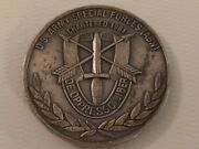 Special Forces Group Abn Green Beret Association Lawton Chapt 32 Challenge Coin