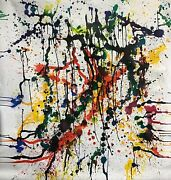 Large Format Painting Modern Art Abstract Expressionism 74andrdquo X 72andrdquo Stilgenbauer