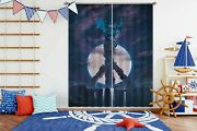 3d Starry Sky Peace Dragon P661 Window Photo Curtain Printing Fabric Vincent Amy