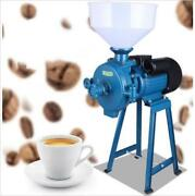 Ce 220v Electric Feed Mill Wet Dry Cereals Grinder Corn Grain Rice Coffee Whea M