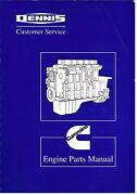 Dennis Fire Engine Bus Coach Cummins C Series Diesel Eng Factory Parts Catalogue