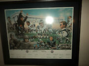 Chicago Bears Signed Limited Edition 75th Anniversary Commemorative Print