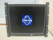 Pelco Pmcl319 19 Flat Panel Lcd Tft Active Matrix Monitor W/ Pmcl-rm19 Mount