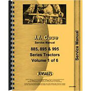 New Service Manual For International Harvester 895 Tractor