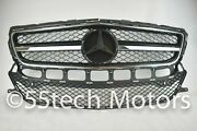 Mercedes Cls550 W218 Cls Grille Grill Amg Look 2012 2014 Cls500 Black/chrome