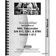 Fits Caterpillar 955l Traxcavator Service Manual New 8y1+ 13x1+ And 57m1+