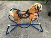 Vintage Wonder Horse Spring Bounce Childrens Riding Toy