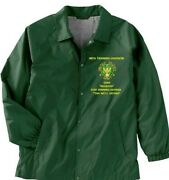 98th Training Division Fort Benning-ga Usar Army Embroidered Lightweight Jacket