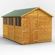 Power Apex Garden Shed | Power Sheds | Wooden Workshop | Sizes 12x8 Up To 20x8