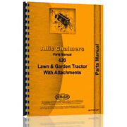 New Parts Manual Made Fits Allis Chalmers Ac Tractor Model 620