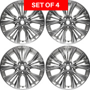 New 20 Replacement Alloy Hyper Silver Wheel Rim Fits Chevrolet Impala Set Of 4