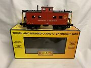 ✅mth Railking Pittsburg And Shawmut Lighted Steel Caboose 30-77161 Pittsburgh