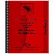 Chassis Parts Manual For Farmall 140 Tractor