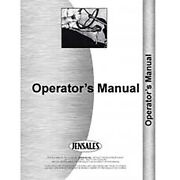 Tractor Operator's Manual Fits Massey Ferguson 1010 2 And 4 Wheel Drive