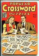 Popular Crossword Puzzles 1-2/1941-pre Wwii-unworked-southern States-fn Minus