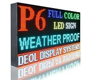 Wifi 6mm Full Color 17 X 61 Pc Programmable Led Text/logo Business Billboard