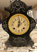 1900 Era Mantle Clock By New Haven Clock Company