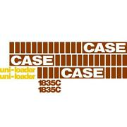 Whole Machine Decal Set With Uni-loader Decals Fits Case Skidsteer 1835c