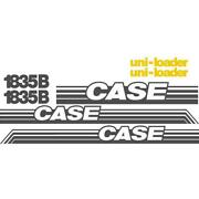 Whole Decal Set W/ Uni-loader Decals Fits Case Skidsteer 1835b Ns New Style