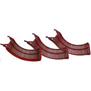 B96127 New Narrow Spaced Concaves Set Made Fits Case-ih Combine Models 1680 +