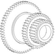 530699r1 New Cluster Gear Made Fits Case-ih Combine Models 915 1460 1470 1480 +