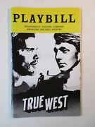 True West Playbill American Airlines Theater New York Broadway Ethan Hawke