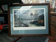 John Stobart Signed Numbered Baltimore Federal Hill And The Marine Observatory 2