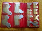 Vintage Precision Machinist Tools 23 Pc The Lufkin Rule Co. Radius Set With Case