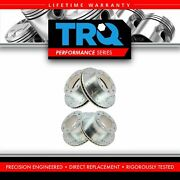 Trq Front Rear Performance Drilled Slotted Zinc Coated Rotor Kit For Ford Pickup