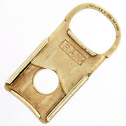 14k Gold Cigar Cutter | Guillotine Style, Monogramed