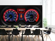 3d Dashboard S315 Transport Wallpaper Mural Self-adhesive Removable Sunday