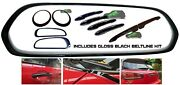 Mini F54 Clubman Full De Chrome Piano Black Out Kit Covers Smps2012