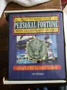 Ted Thomas How To Make Your Personal Fortune With Government Money Vhs Book Set