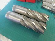 2 Osg 2.0 X 4.0 Loc Hss-co 6 Flute Roughing And Finishing End Mills