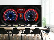 3d Dashboard T315 Transport Wallpaper Mural Self-adhesive Removable Sunday