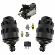 Rear Air Springs Compressor And Relay Kit For Mercedes New