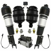 Front And Rear Air Shocks Springs Compressor And Relay Kit For Mercedes
