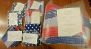 Made In Usa Stars And Stripes Full Double Bedding Set Comforter Americana Flag