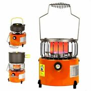 Energy Consumption Portable 2 In 1 Camping Stoves Metal Manual Cooking Equipment
